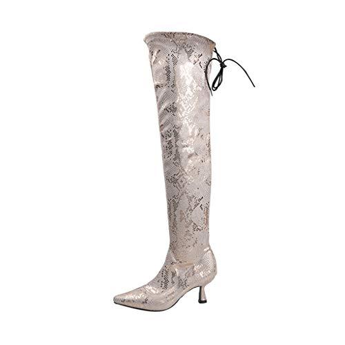 UMore Botines Militares Tacón Ancho Medio para Mujer Invierno Primavera 2021 Botines Mujer Tacon Medio Invierno Planos Tacon Ancho Piel Botas Botita Moda Casual Planas Zapatos Calzado