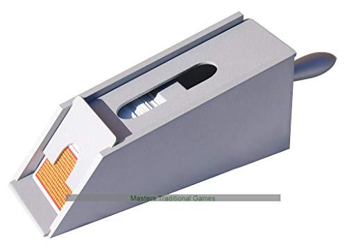 Great Features Of Dal Negro Wooden Card/Dealer's Shoe in Gray (Cards not Included)