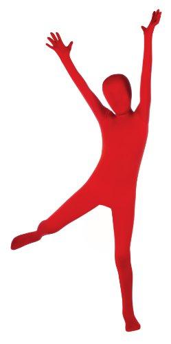 Child's Red Second Skin Body Suit, Medium