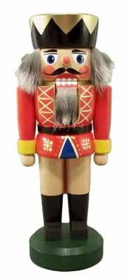 Rudolphs Schatzkiste Nussknacker König 20cm NEU Nußknacker Holz Figur Erzgebirge
