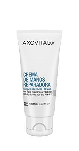 Axovital - Crema de Manos SPF10 Hidratante No Grasa - 50 ml.