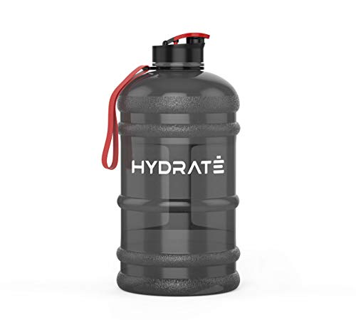 HYDRATE XL Jug 2.2 Litre Water Bottle - BPA Free, Flip Cap, Ideal for Gym - Colour Options (2.2 Litre,...