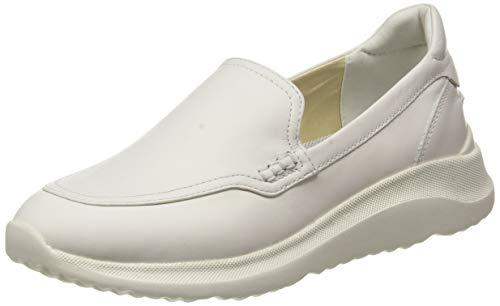 Geox D DIODIANA A, Zapatillas Mujer, Blanco Crudo, 39 EU