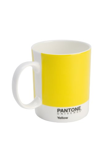 Pantone Becher Bone China Custard Yellow
