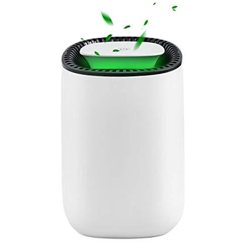 HIMNA PETTR Silencioso Deshumidificador, 600Ml Deshumidificador Electrico Portátil, Bajo Consumo De Energía, Ideal para Cocina, Dormitorio, Oficina, Caravanas, Garajes