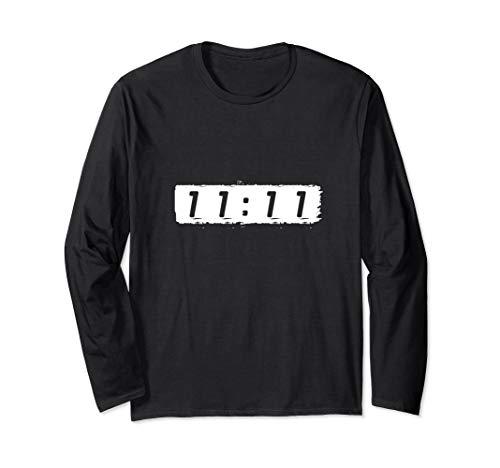 11:11 Numerologie New Age Spiritualität Synchronizität Langarmshirt