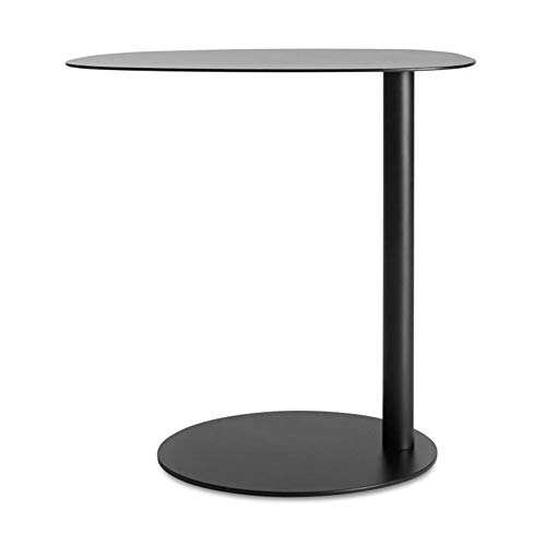 A&D Coffee Table, Laptop Gaming Table Modern Coffee Tea Desk Office Furniture, Nordic Side Bedroom Simple Sofa Corner Bedside Table Side Table Mobile Metal Wrought Iron Light Small Coffee Table Sid