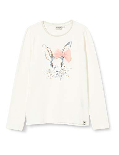 Garcia Mädchen W04601 Baby-und Kleinkind T-Shirt-Satz, Off White, 116/122