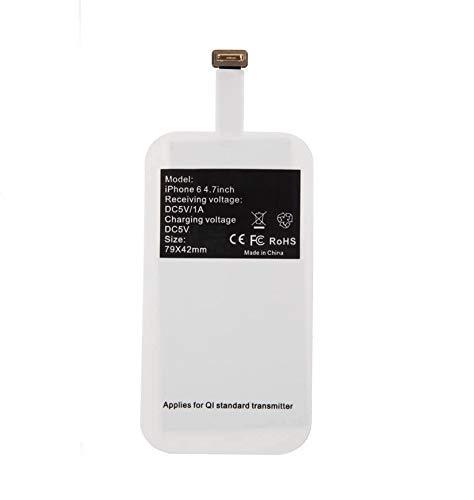 BETTERSHOP™ [QI-Zertifiziert] EMPFÄNGER/Adapter 800 MAH Fast Charge KABELLOSES Aufladen kompatibel mit IQ für I Phone 5-5S-SE-6-6S-7 und Plus