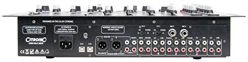 Citronic | CDM10:4 | 4 Channel USB Mixer, 171.135UK