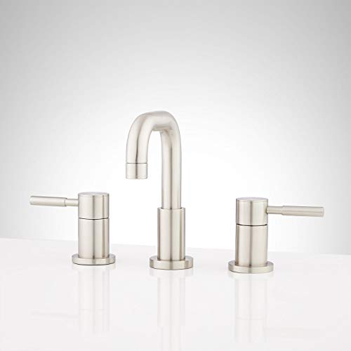 Signature Hardware 447883 Signature Hardware 948589 Edenton 1.2 GPM Widespread Bathroom Faucet with Pop-Up
