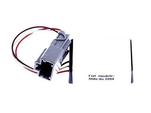 TBVPARTS Emulador Sensor Ocupación Asiento SRS Emulador Bypass Air Bag Simulador Para Para Fiat Stilo