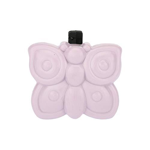 THUN ® - Difusor de fragancia natural para coche – Esencia Violetta con pinza – Plástico – 4,4 cm