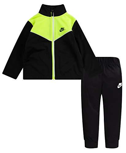 Nike Tuta da Neonato 2-Tone Zipper Tricot Nera Taglia 12 M cod 66G794-023 - 9B