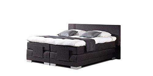Boxspringbett elektrisch verstellbar Vital RELAX, Breite:200 x 220 cm;Stoff - Leder Auswahl:T-Leder Espresso 3262