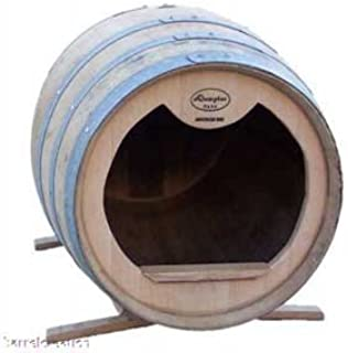 barrel dog house stand