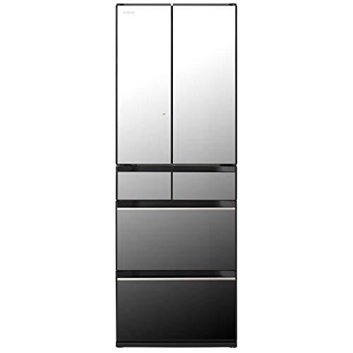 日立 520L 6ドアノンフロン冷蔵庫 クリスタルミラー R-HX52NX