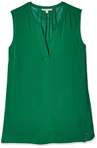 Tom Tailor Tunika Top Camicetta Lunga, 21349/Fresh Bright Green, XL Donna