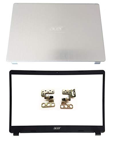 Replacement for Acer Aspire A515-43 A515-52 LCD Back Cover Top Case & Bezel & Hinges