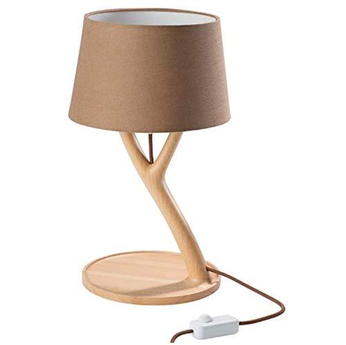 Lámpara de escritorio, moderno minimalista Entrar lámpara de mesa, dormitorio nórdico decoración natural de la lámpara de noche lámpara de mesa de lectura de los ojos