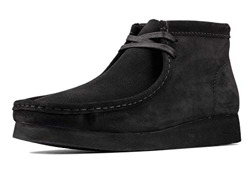 Clarks Wallabee Boot 2 Black Suede 10.5 D (M)