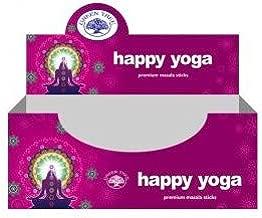 WLM Happy Yoga - Candelabro Redondo con corollo y Incienso ...