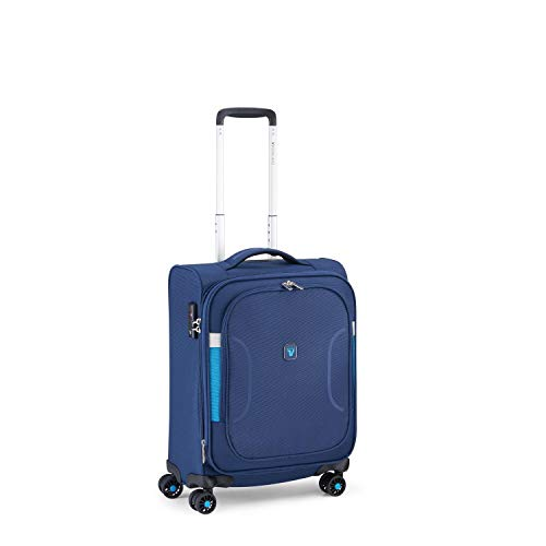 RONCATO City break Trolley morbido cabina espandibile 4 ruote Blu notte tsa
