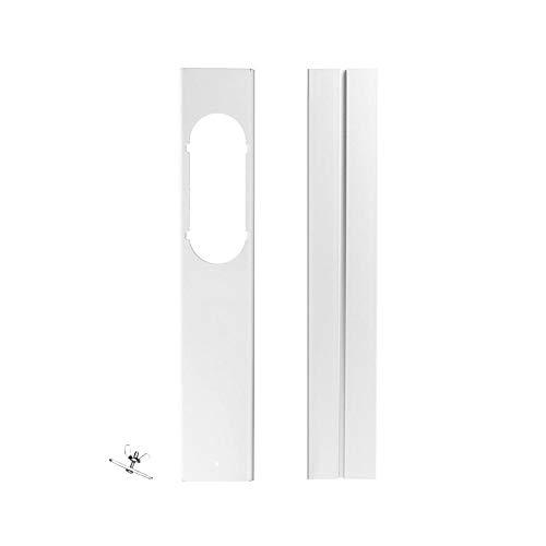 arthomer Placa Universal para Juegos de correderas de Ventana, Adaptador de Sellado de ventilación de Ventana para Aire Acondicionado portátil