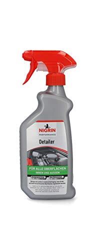 Nigrin 20608 Multi-Detailer Reiniger, Alleskönner 500 ml für Innen und Außen am Auto, mit Bubblegum Duft