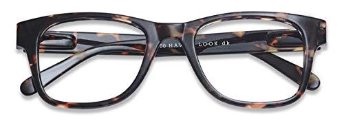 Have A Look Gafas de Lectura Hombre y Mujer Type B Tortoise, Diseño Danés, Marco Estampado de Carey, Para Presbicia, Vista Cansada, Ver de Cerca, Leer, Graduadas Dioptrías (1,5)
