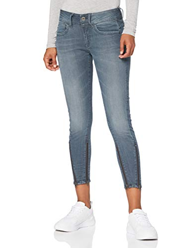 G-STAR RAW Damen Kafey Ultra High Wmn Skinny Jeans, Schwarz (Worn in Chert Grey 9882-B178), W31/L30 (Herstellergröße:31W / 30L)