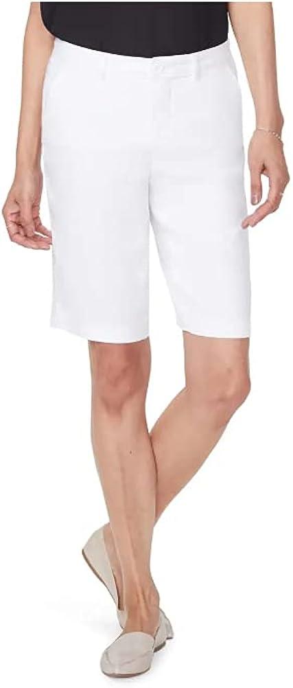 Gloria Vanderbilt Amanda Heritage Fit Classic Rise Stretch Skimmer New Crystal White