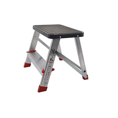 Escalerilla, Taburete o escalón Plegable de Aluminio de 2 peldaños