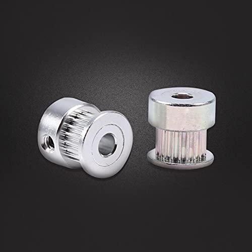 Polea de impresora 3D Rueda de correa de aleación de aluminio Polea de distribución Polea de correa Polea de correa de 6 mm de ancho Formador de engranajes