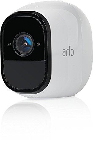 ARLO VMC4030 Telecamera Addizionale per Sistema di Videosorveglianza Wi-Fi senza Fili con Audio a 2 Vie, HD, Visione Notturna, Interno/Esterno, Funziona con Alexa e Google Wi-Fi