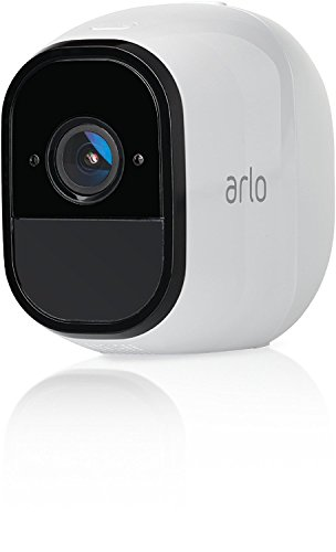 Netgear VMC4030-100EUS Arlo Pro Add On Camera HD con Wi-Fi per la Sicurezza Domestica, Batteria Ricaricabile, Audio, Bianco