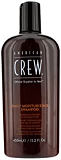 [American Crew] Men Daily Moisturizing Shampoo (For All Types of Hair) 450ml/15.2oz