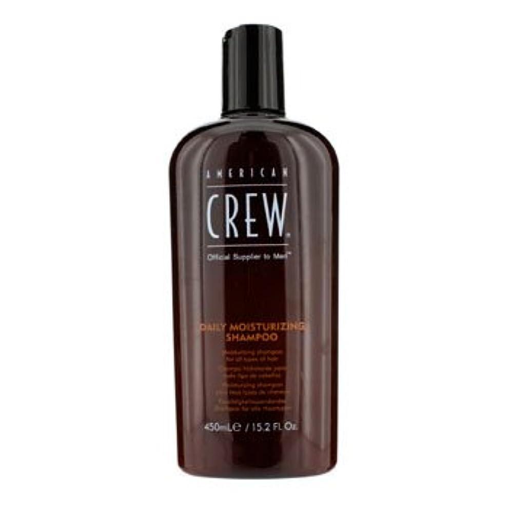 摂氏度肌忠実に[American Crew] Men Daily Moisturizing Shampoo (For All Types of Hair) 450ml/15.2oz