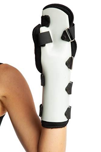 Funda - Férula para muñeca y pulgar - Férula para muñeca y pulgar estabilizador de mano apoyo - Post cirugía inmovilización (L, izquierdo)
