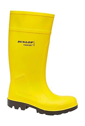 Dunlop DUNLOP Gummistiefel Purofort S5 39 Gelb