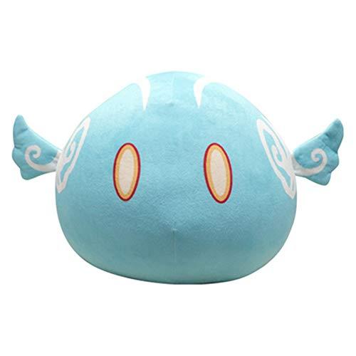 Game Genshin Impact Slime Theme Short Plush Weapon Doll Dango Pillow Cute Toys Cartoon Car Sofa Cushion Birthday Gifts (A)