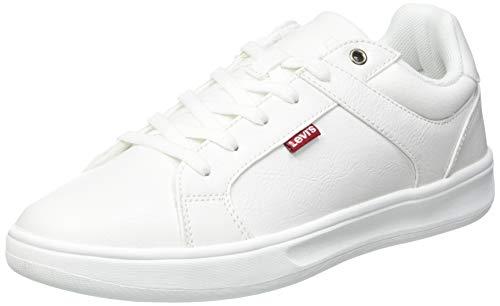 Levi's Herren OSTRANDER Sneaker, Regular White, 39 EU
