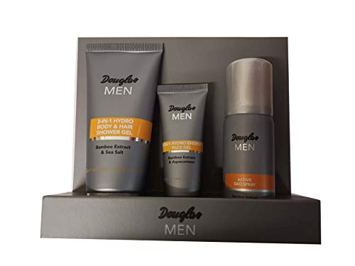 Starter Set 2-in-1 Hair & Body Wash 100 ml + 2-in-1 Hydro Energy Gesichtsgel 25 ml + Active Deo Spray 3 Stk.