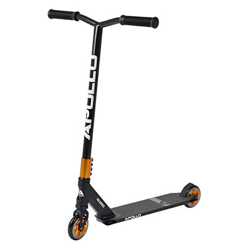 Apollo Stunt Scooter Pro - von Semi Pro bis High End – mit eloxierter Oberfläche, ABEC 9 Kugellagern, 100mm PU Wheels mit Alu Core, Funscooter, Trickscooter, Freestyle-Roller