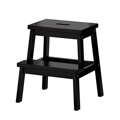 ZHJBD Möbel Stool/trapkruk met 2 fasen voor kinderen, meubels voor stapelbedden, voor volwassenen, hout, standfunctie, keukengerei