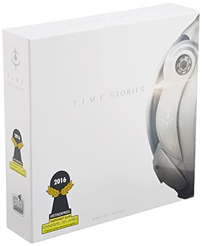 Asmodee TIME Stories - Grundspiel + Asylum, Kennerspiel, Erzählspiel, Deutsch