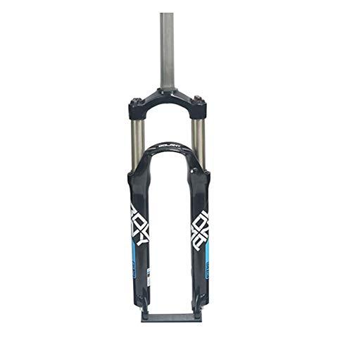 YSHUAI Horquilla suspensión Fat Bike MTB Horquilla Suspensión para Bicicleta 26 27.5 29 Pulgadas Horquilla Bicicleta Derecho 1-1/8