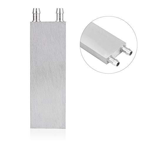 Mavis Laven Aluminium CPU Radiator Water Koeling Blok Vloeibare Water Koeler Warmtegootsteen voor PC Laptop(Optioneel), 40 * 80 * 12mm