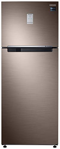 Samsung 476 L 2 Star Inverter Frost-Free Double Door Refrigerator (RT49R6738DX/TL, Refined Brown)
