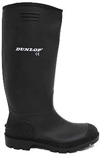 Dunlop Bottes en caoutchouc pour homme Noir - Noir -...